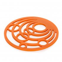 RD ORANGE SILICONE MAT 3126410O