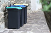 RECYLING COLOR CODED BIN 30L Y/G/B 14720