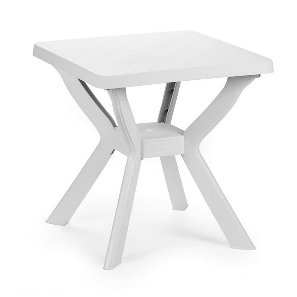RENO WHITE SQ. TABLE 70x70CM