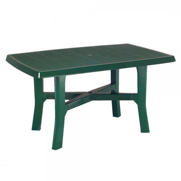 RODANO GREEN TABLE CM.138x80x72cm