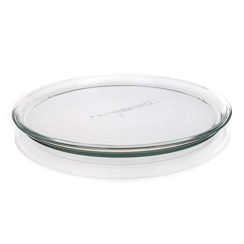 ROUND PIZZA TRAY GLASS 32CM SIMAX 186826