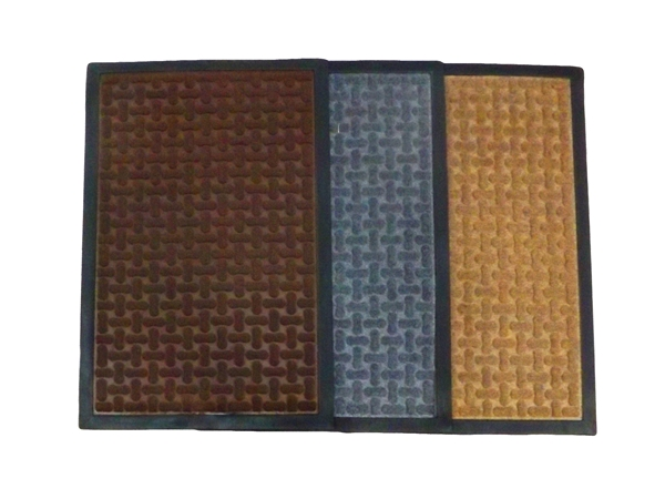 RUBBER DOOR MAT PATTERN K40