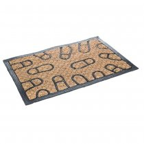 RUBBER DOOR CARPET 40x60cm 'FOOTPRINT' 43987111 K100