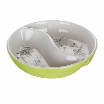 SERVING BOWL W/PART OLIVE 60SM01OL K24