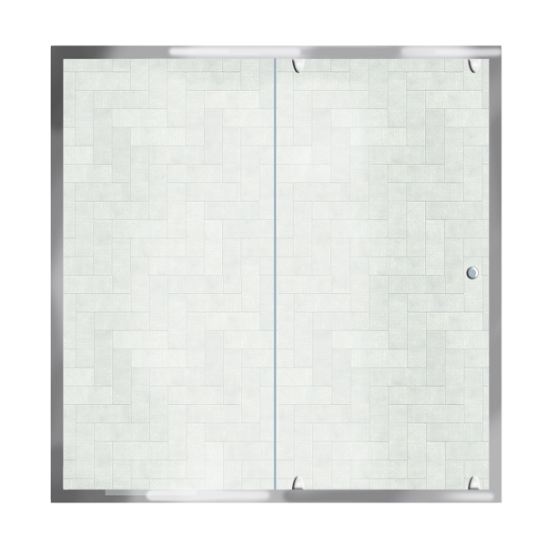 SHOWER SCREEN 130-140cm