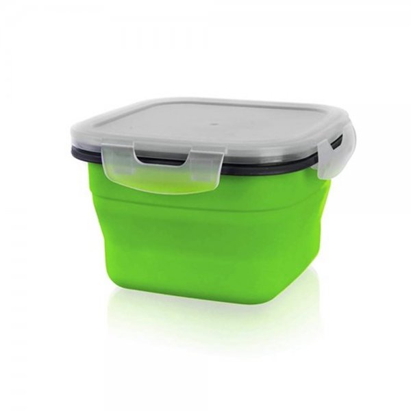 SILICONE FOLDING FOOD CONTAINER 800ml 3126605G K24
