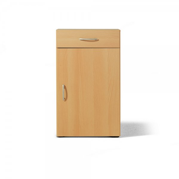 LEVEL 1 SINGLE DOOR CABINET W/DRAWER OAK 81223635