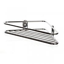 SINGLE SHOWER CHROME CORNER-SHELF 19cm 45203070 K48