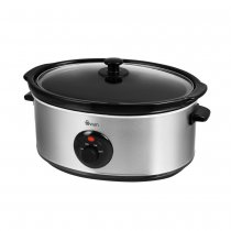 SLOW COOKER SS BRUSHED 6.5L SF17030N