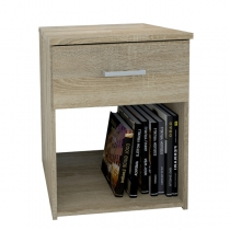 SPACE NIGHT STAND OAK