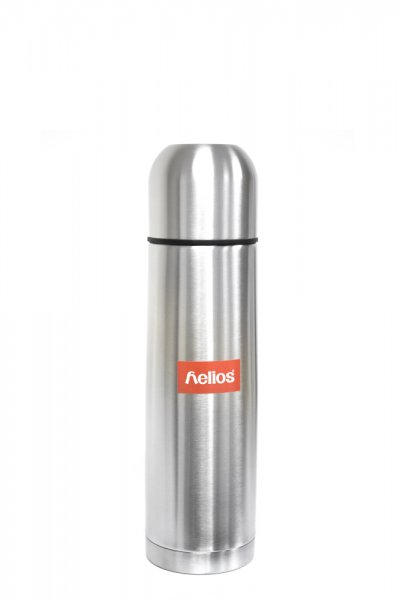 SS VACUUM FLASK 0.5L HELIOS 1002