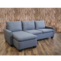 TRIBECA CORNER SOFA REVERSIBLE light grey