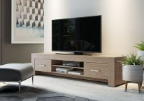 MAX TV STAND 2DRS ECLIPSE ELM 202M02E