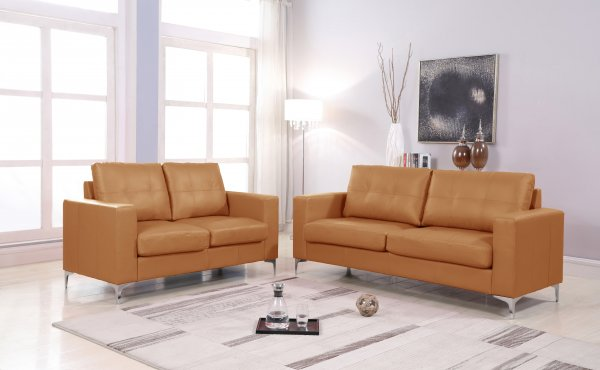 TWO SEATER SOFA EAGLE TAUPE/BEIGE