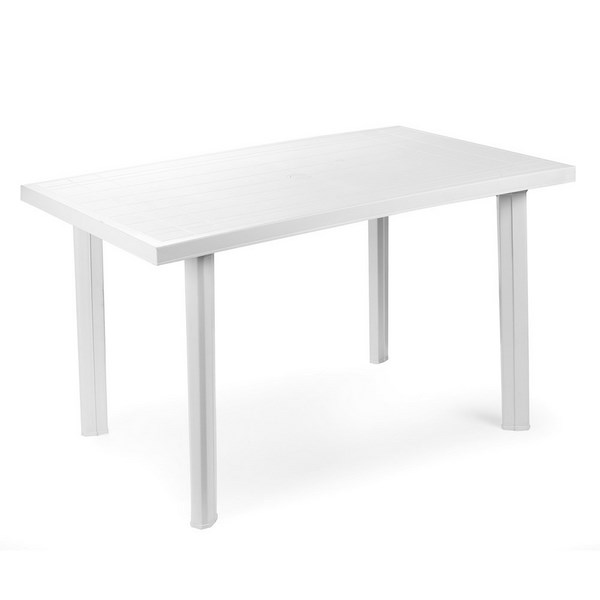 VELO WHITE TABLE 125x75CM