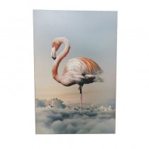 WALL PAINTING FLAMINGO DESIGN 60X90CM
