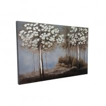 WALL PAINTING FOREST DESIGN 60X90CM